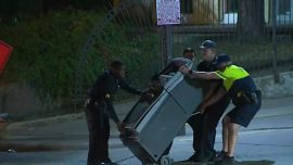 Attempted ATM Robbery Ends When Machine Falls Off Truck Into Street