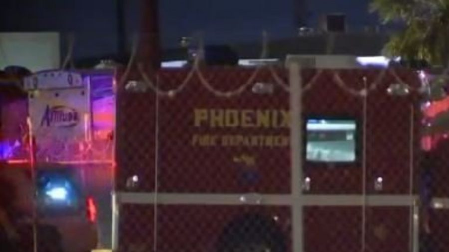 PD: Homeless Woman Steals Ambulance, Crashes Into Fence