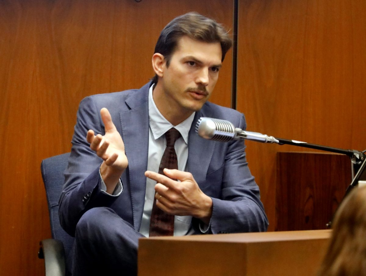 Ashton Kutcher testifies