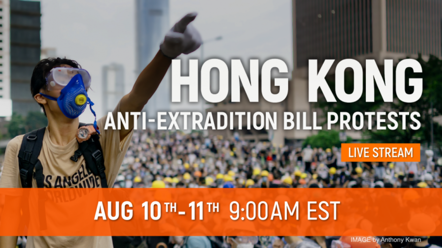 This Weekend's Hong Kong Protests to be Live-Streamed on NTD Website