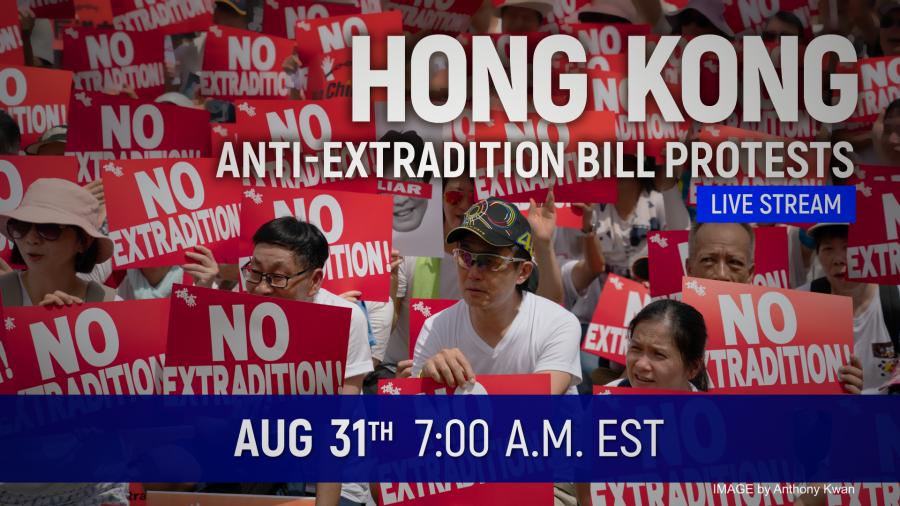 Saturday Live Broadcast: Mass Hong Kong Protest Expected Despite Police Ban