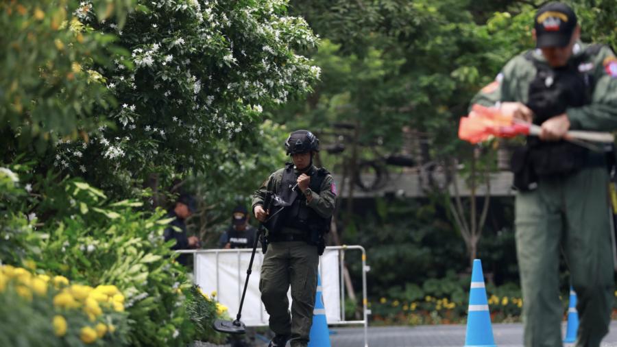 Several Blasts Heard in Thai Capital, 2 Hurt