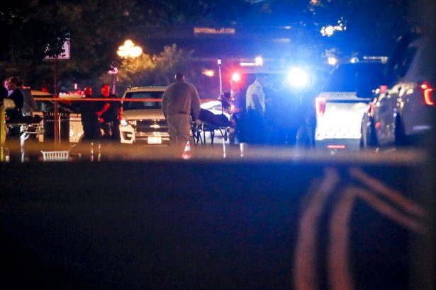 Bodies are removed from at the scene of Ohio mass shooting