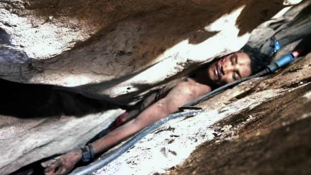 Cambodian Man Rescued After Getting Wedged Between Mountain Rocks for 4 Days