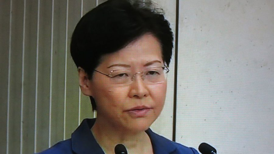 Hong Kong Leader Carrie Lam Frustrates Reporters, Dodging Questions at Press Conference