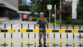 Chinese Troop Rotation in Hong Kong Draws Unease
