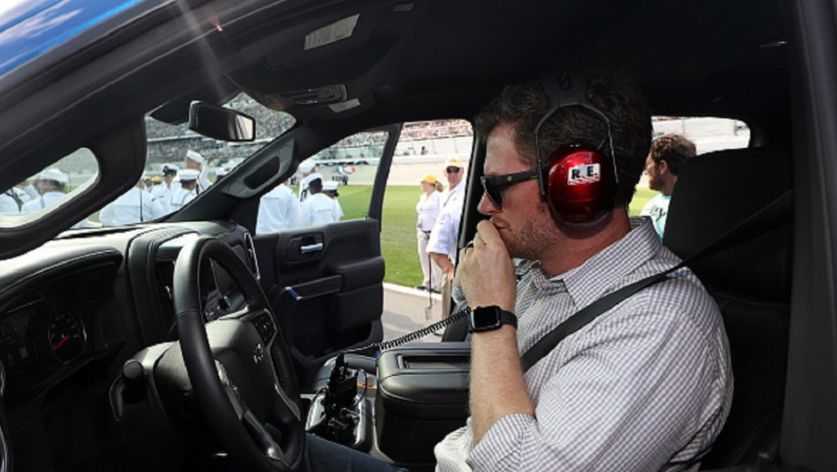 Retired driver Dale Earnhardt Jr.