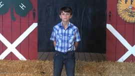 12-Year-Old Boy Raises $15,000 at County Fair's Pig Auction, Then Donates It to St. Jude