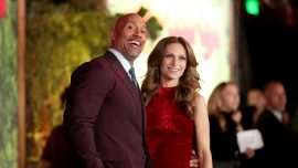 Dwayne 'The Rock' Johnson Is His Own Best Man as He Walks Down the Aisle