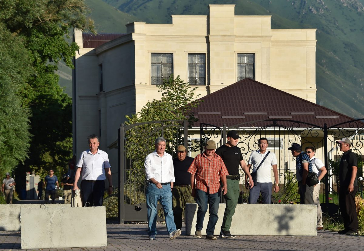 Kyrgyzstan troops storm ex-President's home