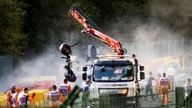 F2 Driver Hubert Killed in Crash at Belgian Grand Prix