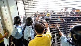 Hong Kong MTR Temporarily Shuts Down Stations in Attempt to Stop Protesters From Gathering