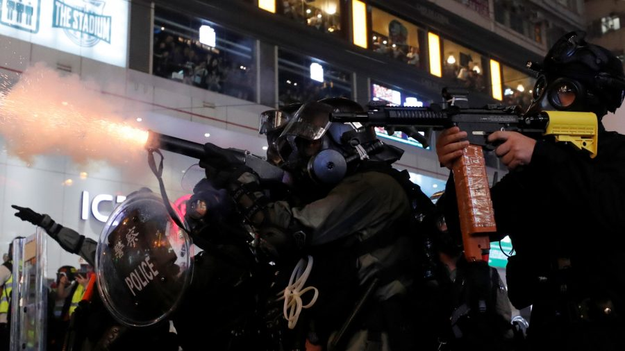 Hong Kong Protests Grow Violent as Police Storm Subway Stations, Fire Weapons
