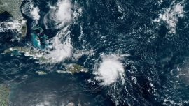 Dorian Hits US Virgin Islands as Category 1 Hurricane