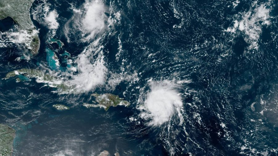 Dorian Hits US Virgin Islands as Category 1 Hurricane
