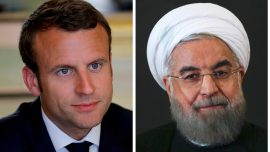 Macron Did Not Invite Iran's Rouhani to G7 Summit: Diplomat