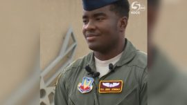Airman Drives Elderly Woman Home After She Struggles to Carry Groceries
