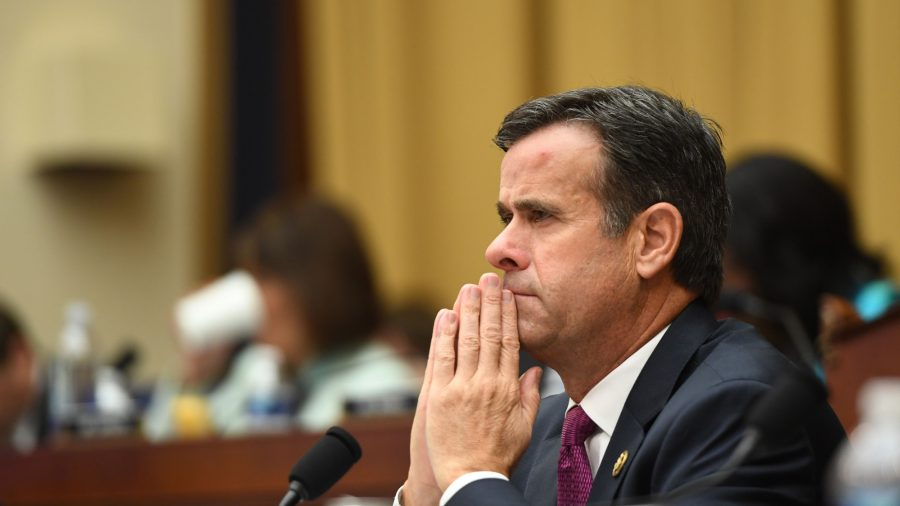 Trump Says Ratcliffe No Longer His Pick for Intelligence Chief