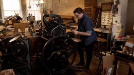 The Lasting Impression of Letterpress Printing