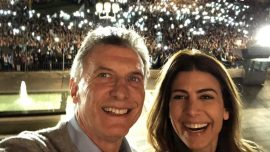 Crowds Fill Argentine Streets to Back President Macri