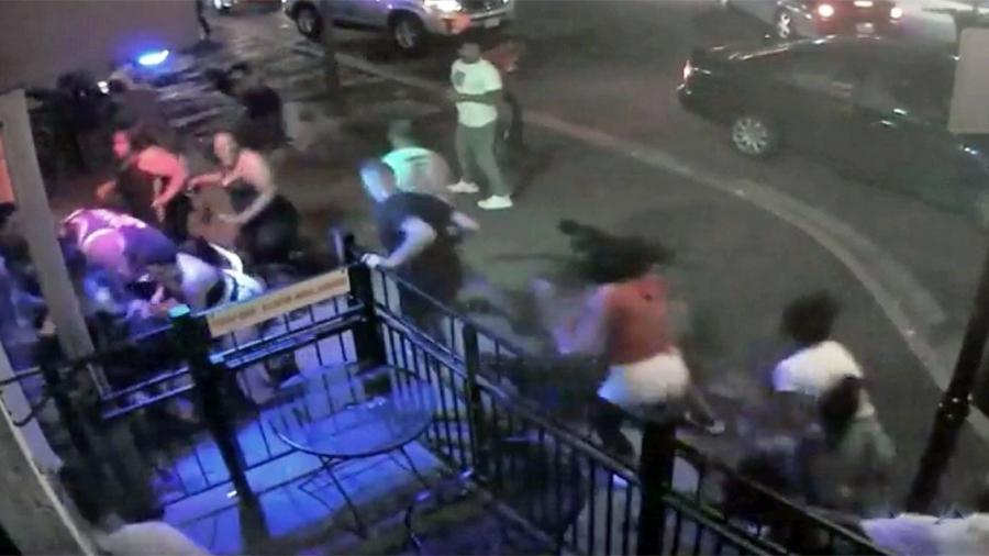 Viral Video Shows Shocking Moment When Police Gun Down Dayton Shooter