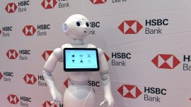 Bank Branch Unveils its First Social Humanoid Robot for Customer Service in Silicon Valley