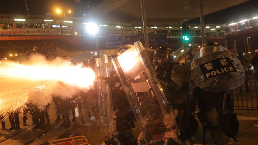 US Says China Acts Like 'Thuggish Regime' Amid Hong Kong Row