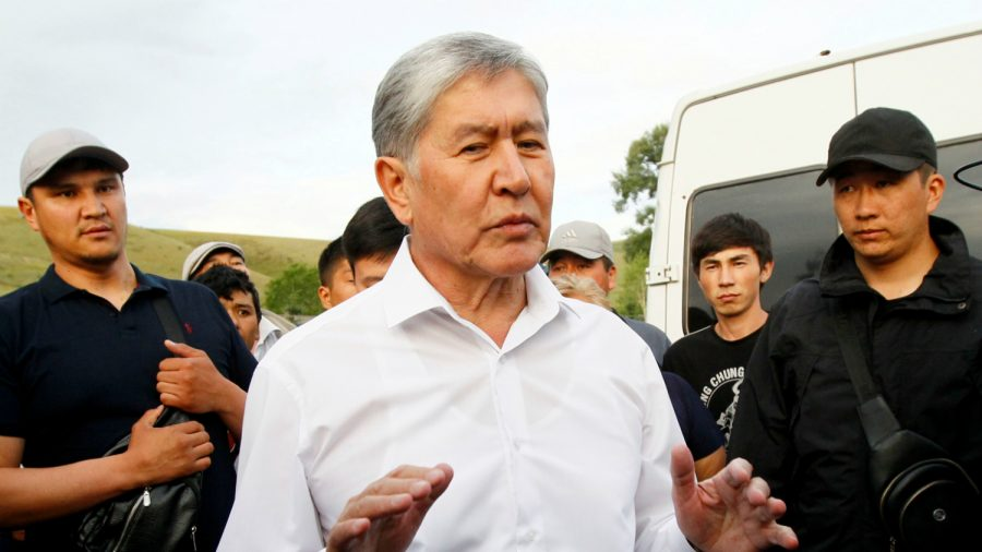 Ex-President of Kyrgyzstan Surrenders a Day After Violent Botched Raid