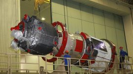 Russian Capsule Carrying Robot Fails Docking the ISS