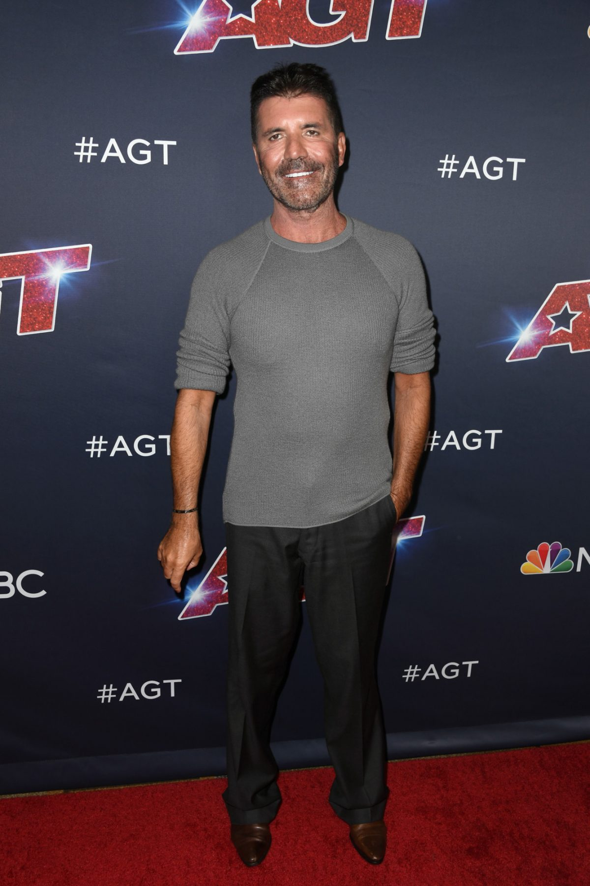 Simon Cowell attends AGT