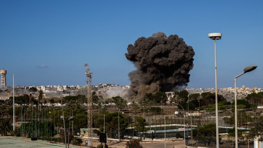 Air Strike on South Libyan Town Kills at Least 43: Official