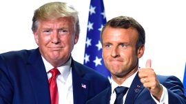 President Trump and France's Macron to Meet Before NATO Summit