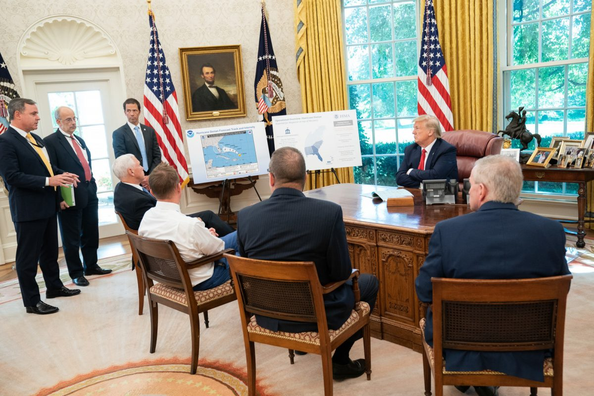 Trump briefed at White House