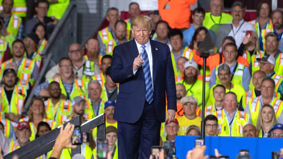 Trump Pledges During Speech to Continue Growing Energy Production, Manufacturing Jobs