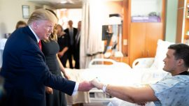President Comforts Victims in Dayton and El Paso, Thanks First Responders