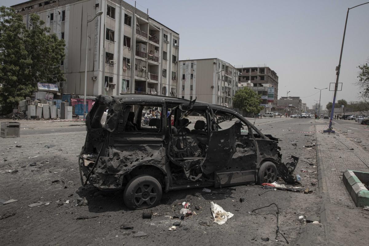 Yemen attack on village 2