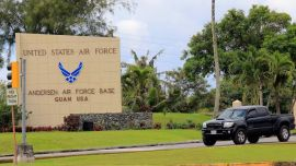 Man Escaping From Police Rams Air Force Base Gate, Stabs Security Officer