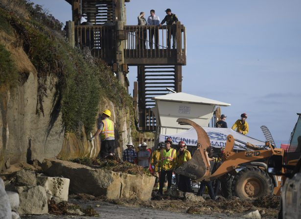 California Cliff Collapse