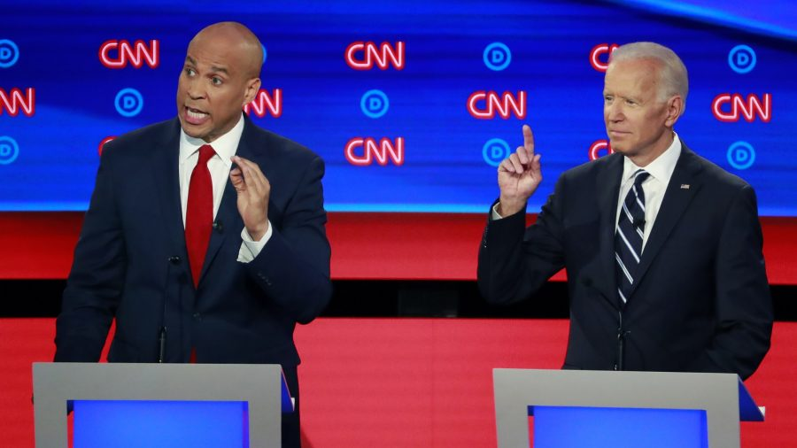 Cory Booker Curses During Live CNN Debate
