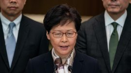 Hong Kong Lawmakers Question Carrie Lam's Comments on Whether She Wishes to Resign