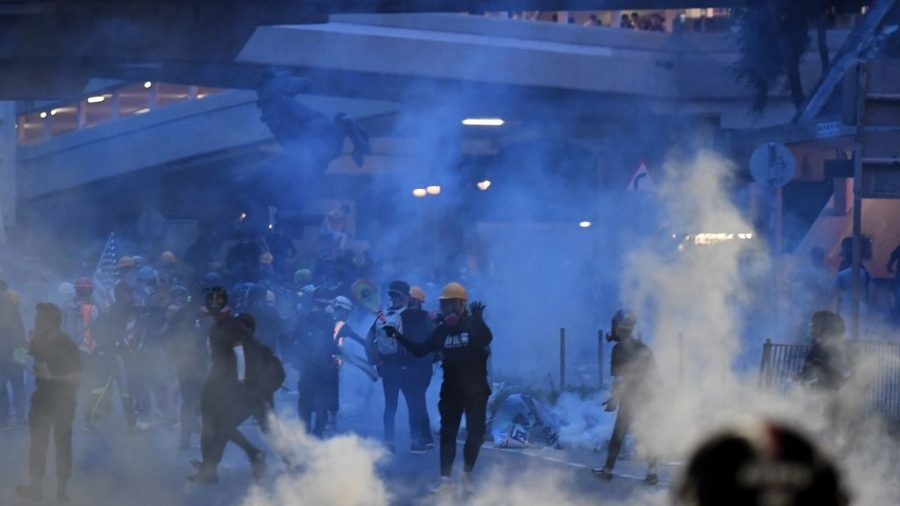 Hong Kong Protests Continue After Police Announce 16 Arrests Overnight
