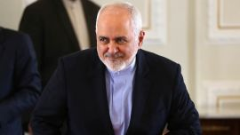 Iran's Foreign Minister Arrives for G7 Side Talks