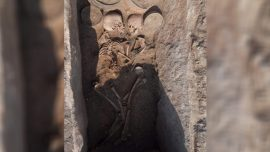 Young Couple Buried Face to Face 4,000 Years Ago Unearthed in Kazakhstan
