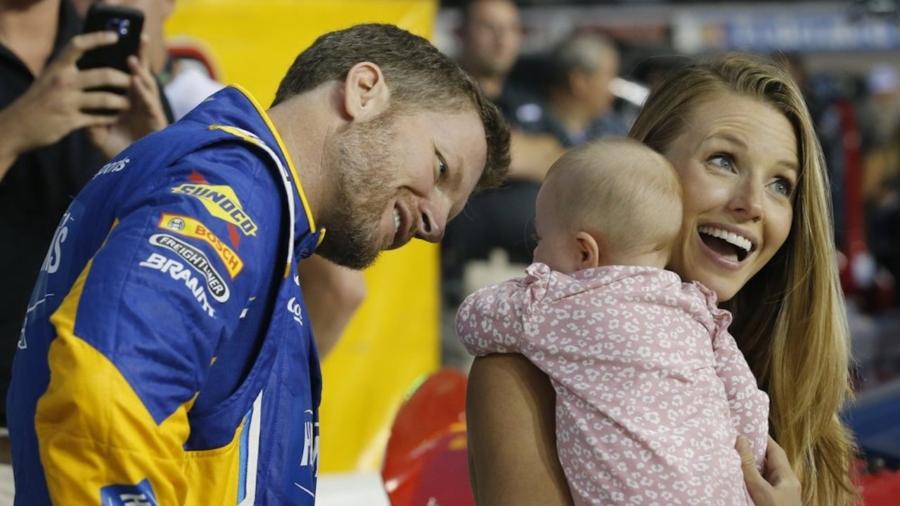 Dale Earnhardt Jr., Wife Amy 'Safe' after Plane Crash