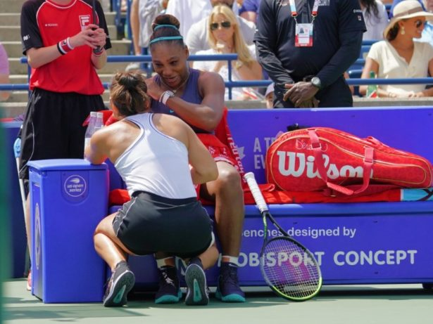 serena williams and bianca andreescu