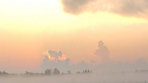 Florida Man Sees 'Firefighter Running Toward Angel' in Clouds on 9/11