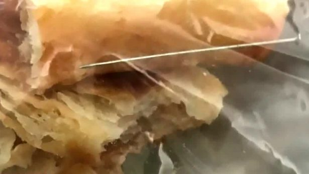 Girl Bites Into a Needle While Eating a Kroger Pastry