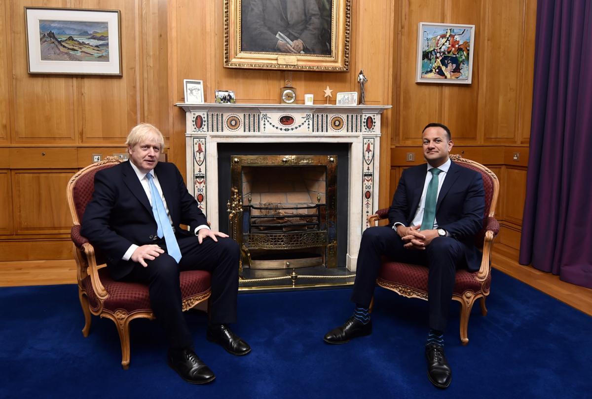 Boris Johnson and PM Ireland