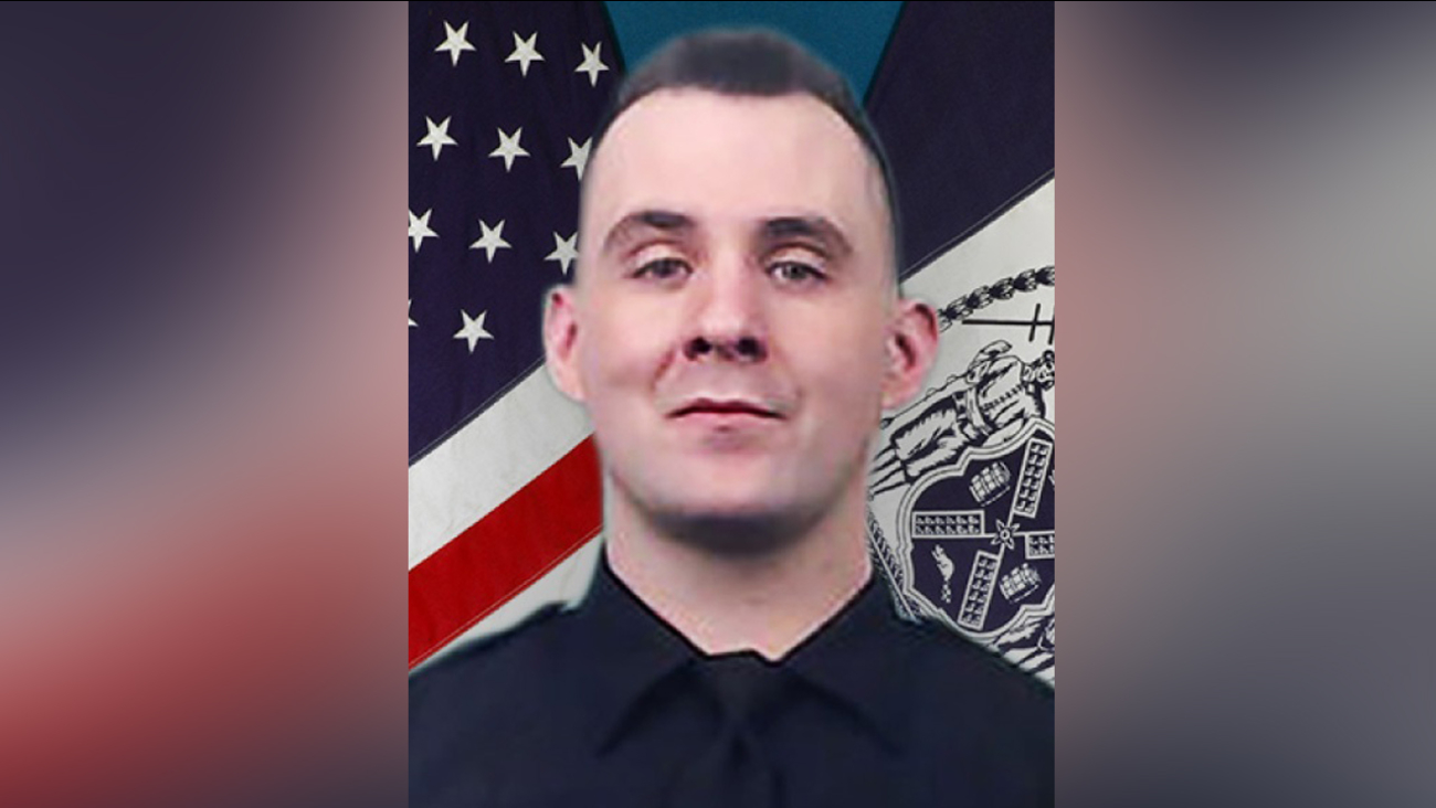 NYPD officer Brian Mulkeen