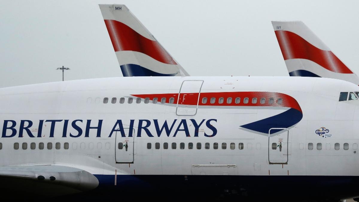 British Airlines pilot strike 1